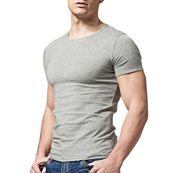 Summer Plus Size T-Shirt Mens Cotton Undershirt Male O Neck Short Sleeves 5XL 6XL Cotton Underwear Men Undershirts
