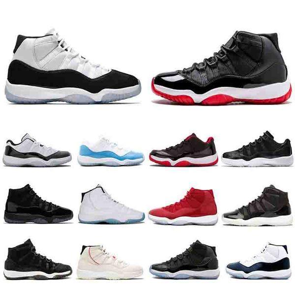 Zapatillas de baloncesto CONCORD RELEASE 45 PLATINUM TINT 11S para hombre y para mujer RELEASE WIN LIKE Moda para hombre de lujo para mujer diseñador sandalias zapatos