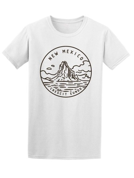 New Mexico Logo Men's Tee -Image by Shutterstock