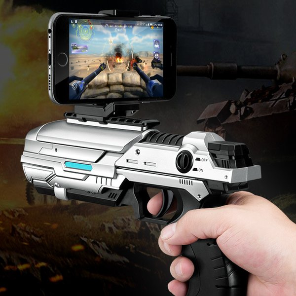 2018 Top Fashion Sale freeshipping Kids Toys Txd-305 Body Sense Shooting Ar Game Gun Smart Phone Bluetooth Vr Handle Magic Toy