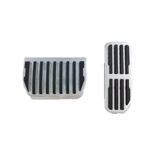 Stainless Steel Car Accessory for Jaguar XE XF F-PACE F PACE 2015 2016-2018 Gas Brake Foot Rest Refit Pedal Pads