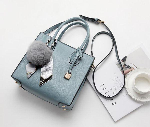 cbc417eb6b4 Fashion Litchi Pattern Leather Handbags Women Tassel Casual Tote Bags Lock  Pendant Vintage Women Handbags Ladies Crossbody Bag K2876s Designer Bags ...