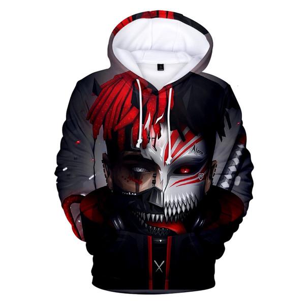 Shirt The Open 2019 camisola Impressão Espelho Xxxtentacion Digital 3d Belt Cap Grab camisetas Velvet Jacket