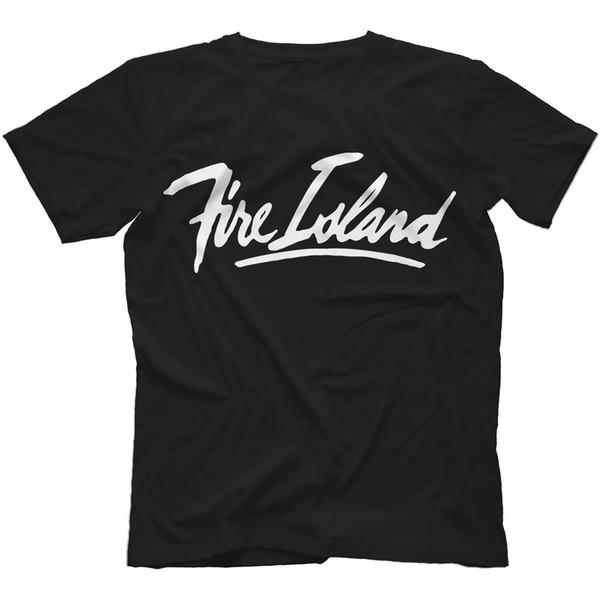 Fire Island T-Shirt Tees Custom Jersey t shirt hoodie hip hop t-shirt jacket croatia leather tshirt