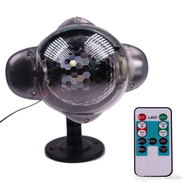 WL-808 Noel mini kar projeksiyon lambası Açık su geçirmez Noel dekorasyon kar tanesi projeksiyon lambası led çim lazer ışığı