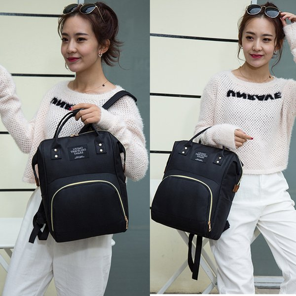 5a0d7c4b031 Fashion Oxford Mummy Backpacks Mom Maternity Nappy Bag Large Capacity Baby  Bags Fashion Travel Shoulder Bags Wholesale Designer Bags Hype Bags From ...
