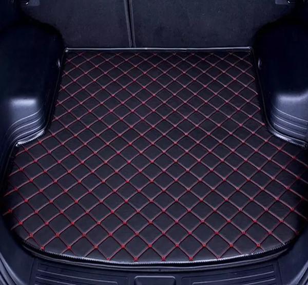 Applicable à 2006-2019 tapis de voiture Hyundai Tucson bagages non-dérapant Tapis imperméable coffre de voiture tapis en cuir