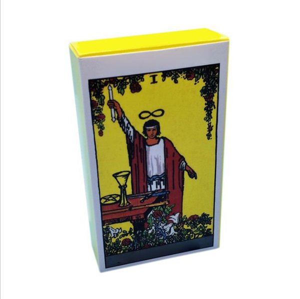 Rider Yellow Box Tarot