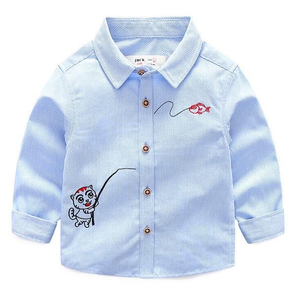Cute Kid Shirt Custom Childrens Shirts Kids Clothing Boys Shirt