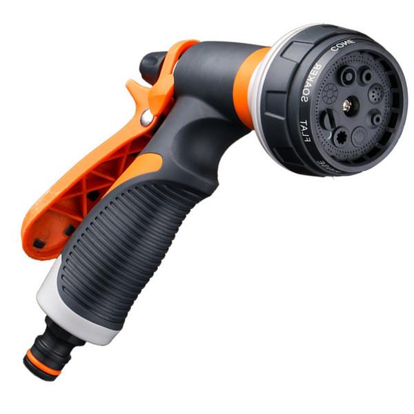 2019 acqua giardino Spruzzatori 8 modelli di pistola di acqua domestica Watering tubo della pistola a spruzzo per il lavaggio auto pulizia del giardino del Watering