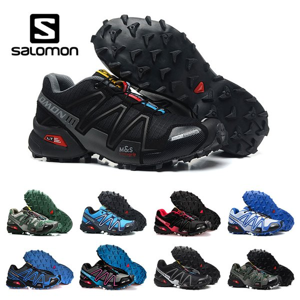 2020 New Speed Cross 3 CS Outdoor Running Shoes For Mens Top Quality Black White Breathable Athletics Shoes Sports Sneakers Size 40 46 Best Shoes For