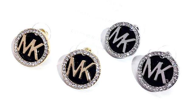 2019 famous designer design new luxury luxury earrings gold black silver-plated retro geometric jewelry wholesale