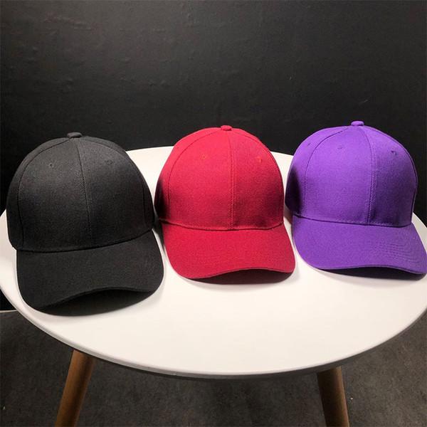 Classic Outdoor Cotton Baseball Cap Adjustable Fits Men Women Low Profile Hat Fashion Ponytail Hats Travel Couple Caps LJJT643