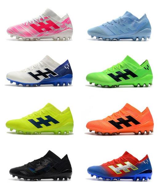 New Cheapest Superfly Predator 19.1 AG Mens Soccer Cleats Cristiano Ronaldo Neymar Soccer Shoes World Cup Football Boots Scarpe Calcio