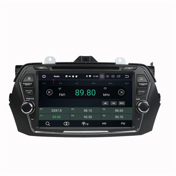 "4GB RAM 64GB ROM Octa Core 2 din 8"" Android 8.0 Car DVD Player for Suzuki CIAZ 2015 2016 2017 RDS Radio GPS 4G WIFI Bluetooth TV USB DVR"