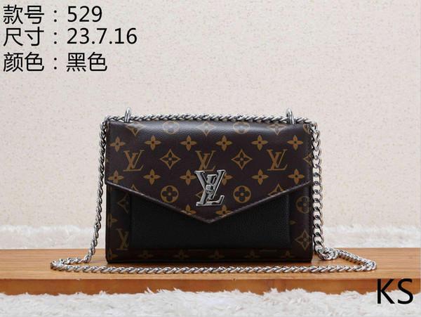 2019 Design Handbag Ladies Brand Totes Clutch Bag High Qukm4kality Classic Shoulder Bags Fashion Leather Hand Bags D000620
