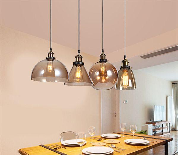 Edison Vintage 69 Vidrio Hogar Colgante Lámpara Comedor Bombilla Comedor Lámpara Colgantes De E27 Decoración Amber Compre Del Luces A17 Americano De Rc354AqjLS
