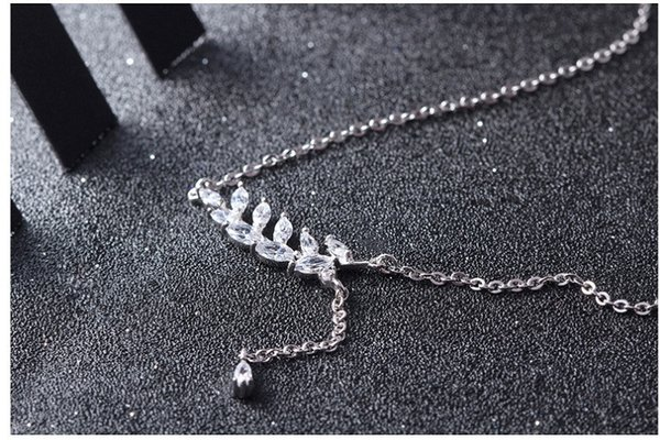 A432 white Gold necklaces