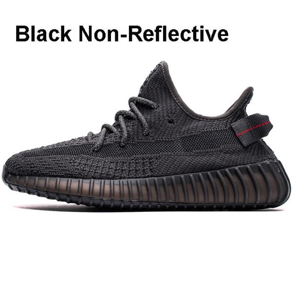 Schwarz nicht reflektierend