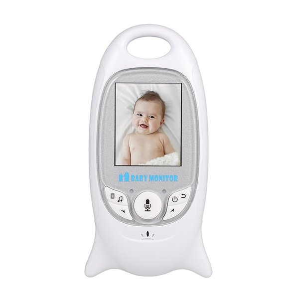 2019 2.4Ghz Video Baby Monitors Wireless 2.0 Inch LCD Screen 2 Way Talk IR Night Vision Temperature Security Camera 8 Lullabies