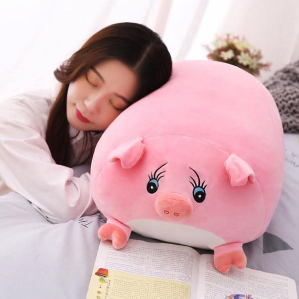 Soft Animal Cartoon Pillow Cushion Cute Fat Pig Plush Toy Stuffed PillowLovely kids Girl Valentine's Day Birthyday Gift