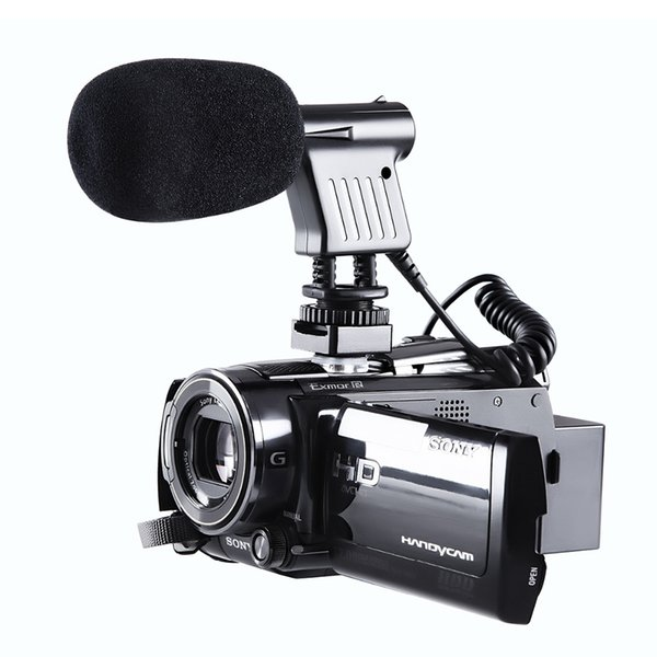 BOYA BY-VM01 3.5mm Video Broadcast Directional Condenser Microphone For Nikon For Canon Sony Recording DSLR Cameras