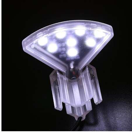 12PCS 5W EU Plug Super Bright LED Aquatic Plant Lamp Aquarium Light Plants Grow Light Waterproof Clip-on Lamp For Fish Tank