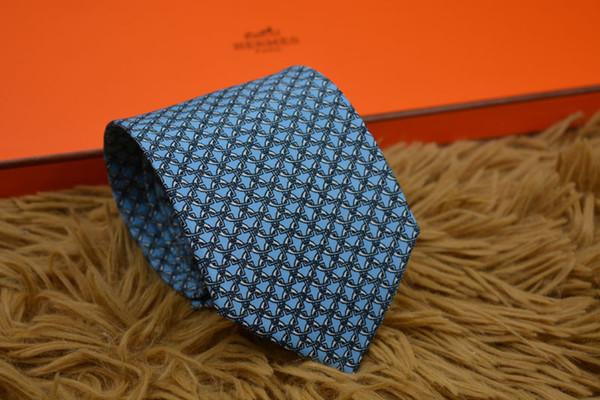 2019 New Accessories Ties For Men Geometric Pattern Men printing Tie Social Wedding Party Formal Tie Men's Clothing Accessories H0904