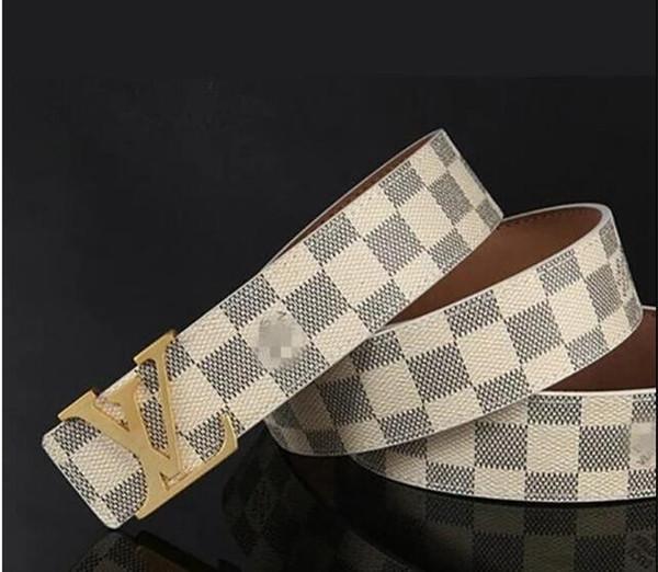 Высококачественные дизайнерские деловые пояса импортируют действительно кожаные модные большие копыта, мужские ремни с ремешком и коробкой