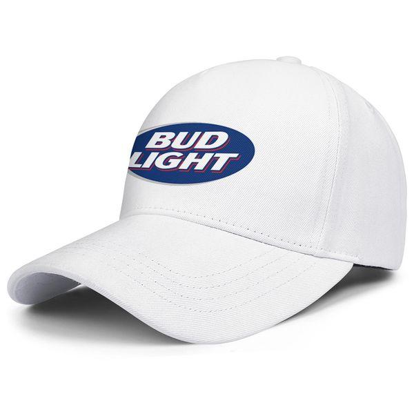 Womens Mens Flat-along Adjustable bud light sign Hip Hop Cotton Snapback Cap Summer Travel Hats Cadet Army Caps Airy Mesh Dad Hats For Men W