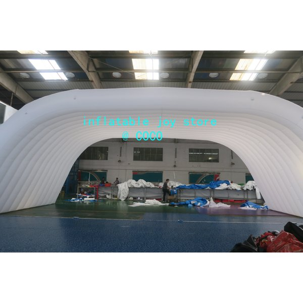 best selling inflatable stage tent,12*6*5mH giant inflatable stage cover marquee outdoor tent concert dome tent