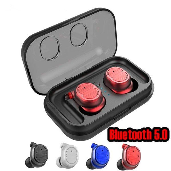 TWS-8 HIFI auricular inalámbrico Bluetooth para auriculares auriculares auriculares bluetooth5.0 estéreo 3d estéreo con caja de carga para IOS huawei xiaomi