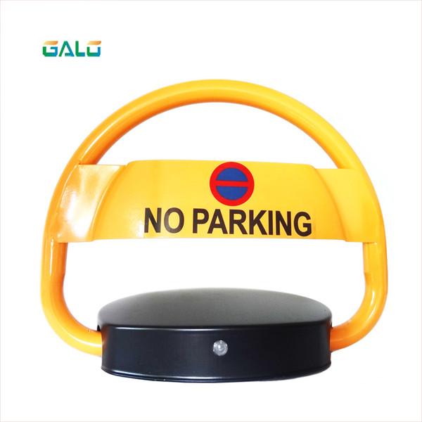 GALO Parking jam use remote control parking barrier lock (DIY logo text ) for VIP car parking