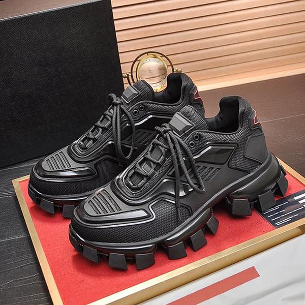 Высококачественные вязаные кроссовки Cloudbust Thunder мужские туфли Chaussures pour hommes Легкий повседневный стиль на шнуровке с оригинальной обувной коробкой