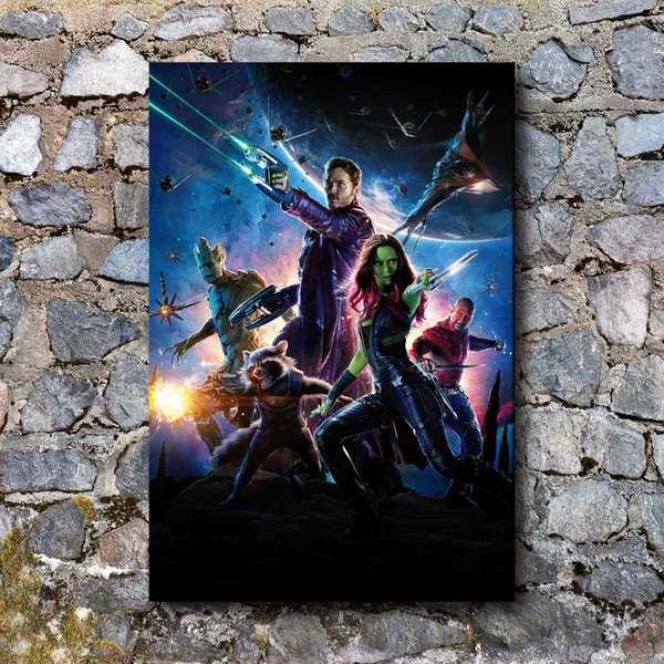 Marvel Galaxy Convoy,1Pieces Home Decor HD Printed Modern Art Painting on Canvas (Unframed/Framed)