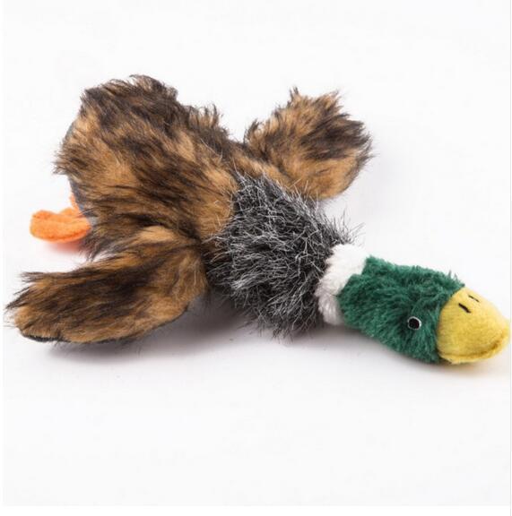Schöne Hundespielzeug Hundewelpen Kauen Plüsch Cartoon Tiere Eichhörnchen Baumwolle Seil OX Form Biss Spielzeug Ente Geformte Quietsch Spielzeug GA666