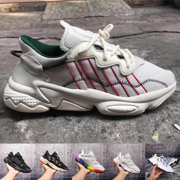 West Kanye Wave Runner Power 500 V2 Statische Trägheit Manve Regenbogen Weiß Schwarz Laufschuhe Designer Herren Damen Turnschuhe Größe 36-45