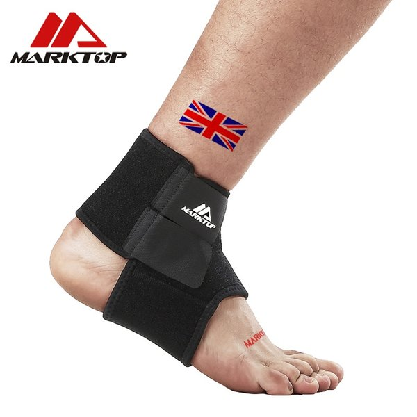Marktop Ankle Support 1PC Safety Gym Running Protección Vendaje del pie Guardia Sport Fitness Elastic Ankle Brace Band 9005 # 265142