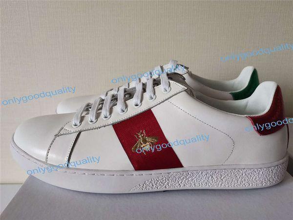 Confezione originale Scarpe da uomo firmate di alta qualità con scarpe da donna di lusso di alta qualità Sneaker da uomo Scarpe casual con asso Verde Rosso Taglia 35-46
