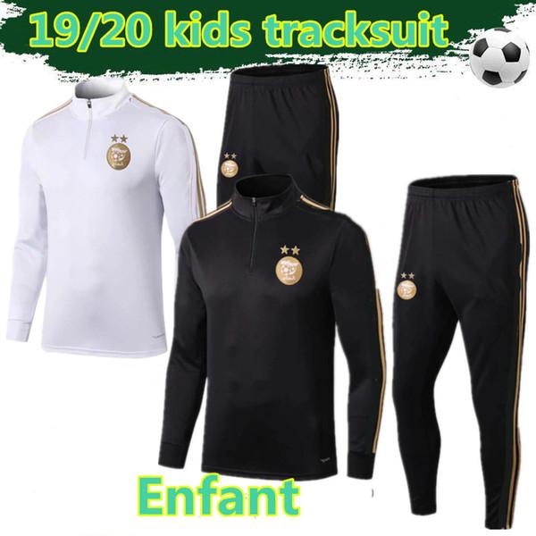 2019 2020 Algeria tracksuit kids 19 20 MAHREZ Survetement maillot de foot FEGHOUL sportswear enfants football training suit
