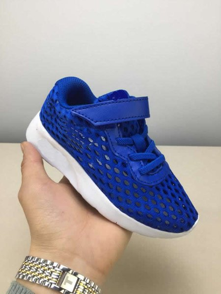 2019 new London big net double-layer breathable children's shoes fashion sports boy girl 3 color casual shoes