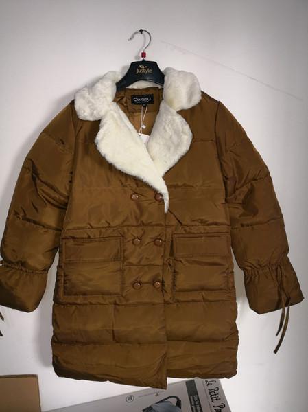 Kış Kadın Ceket Kaban Moda Pamuk Yastıklı Ceket Uzun Kaput Ince Parkas Artı Boyutu Kalınlaşmak Kadın Giyim