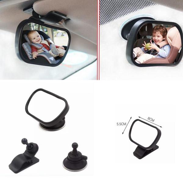 Espelho de segurança do carro do bebê assento de volta vista infantil ajustável carro retrovisor do carro espelho acessórios do carro ljjk1157
