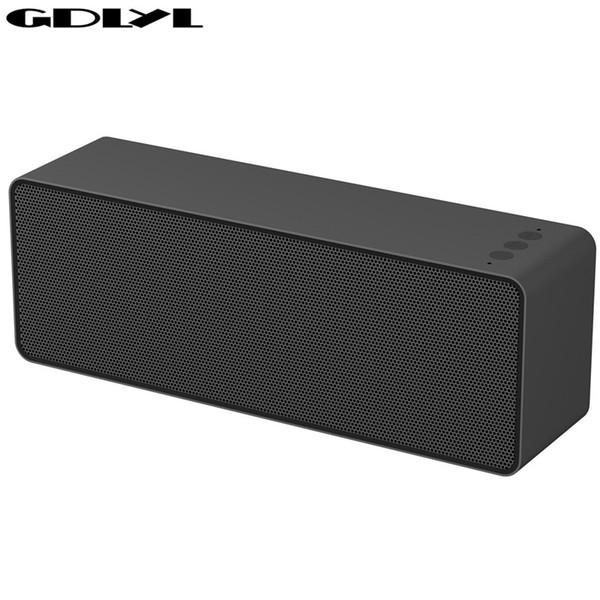 GDLYL Altoparlante Bluetooth audio stereo portatile senza fili grande potenza 10W sistema audio musicale MP3 AUX con microfono per iphone android