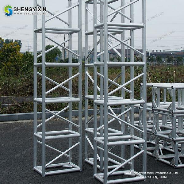 Aluminum Line Array Speaker lighting lift stage truss, truss stand truss clamp