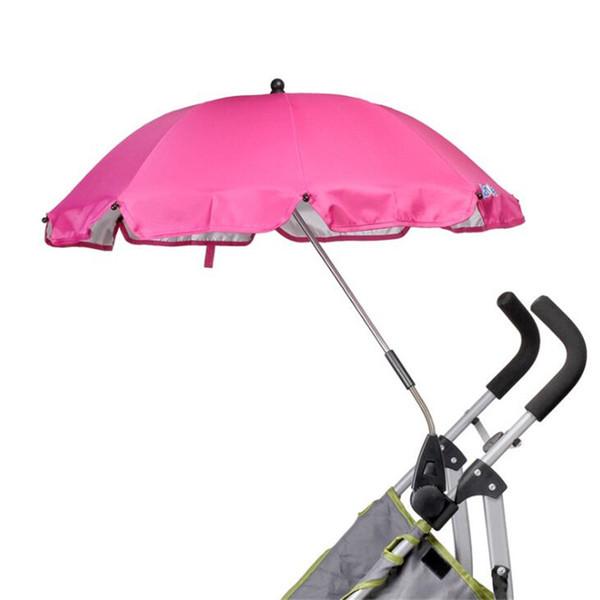 baby Stroller Umbrella Sun Canopy Adjustable Direction Pram Umbrellas Stand Holder Baby Pram Umbrella Stand Holder