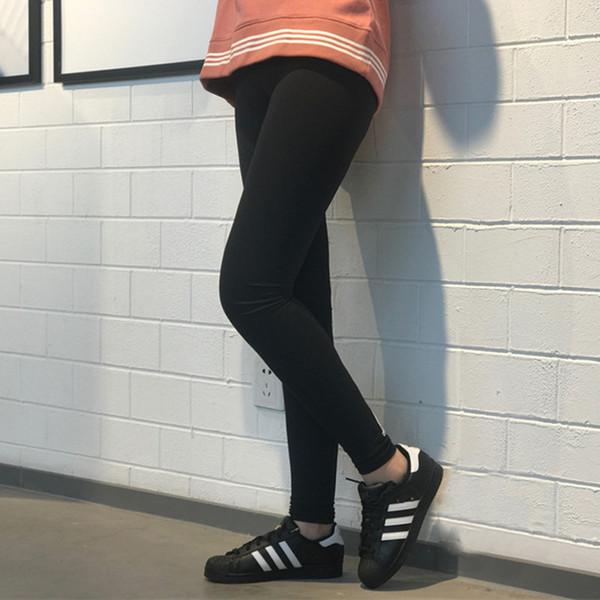 Marka Tasarım Kadın; S Yoga Pantolon Sıska Sıkı Pantolon Spor Tayt Sıkı Uydurma Elastik Ince Spor Kalem Pantolon Siyah M-2xl