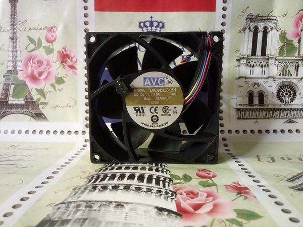 Для AVC 9032 12 В 1.0A 9 см 4-проводной контроль температуры корпус сервера вентилятор DA09232B12H