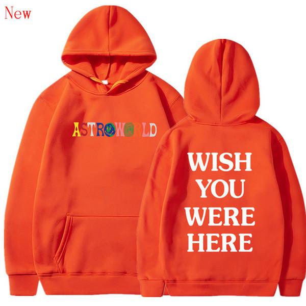 Ücretsiz Nakliye BURAYA OLDUĞUNU DEDI hoodies moda mektup baskı Hoodie streetwear Adam ve kadın Kazak Kazak QJ2