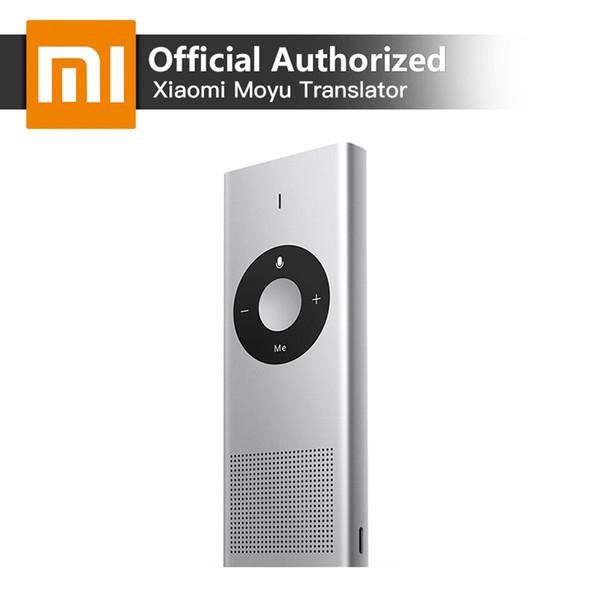 Xiaomi Voice Translator Moyu AI Portable Mini Interpreter 14 Languages Microsoft Translation Engine Support Russian Language